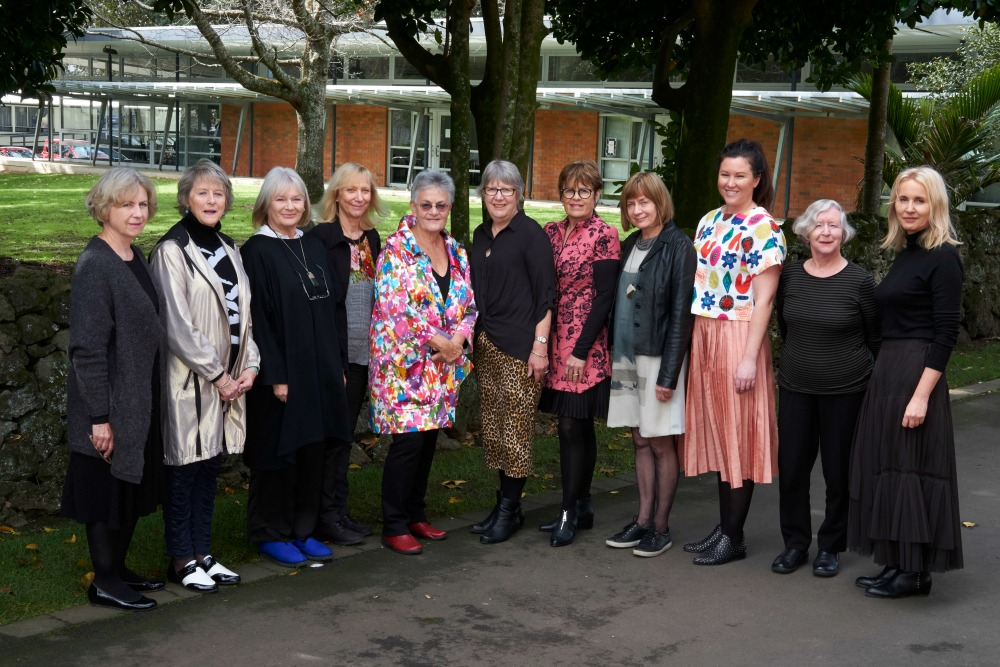 The participating authors at Ladies' Litera-Tea