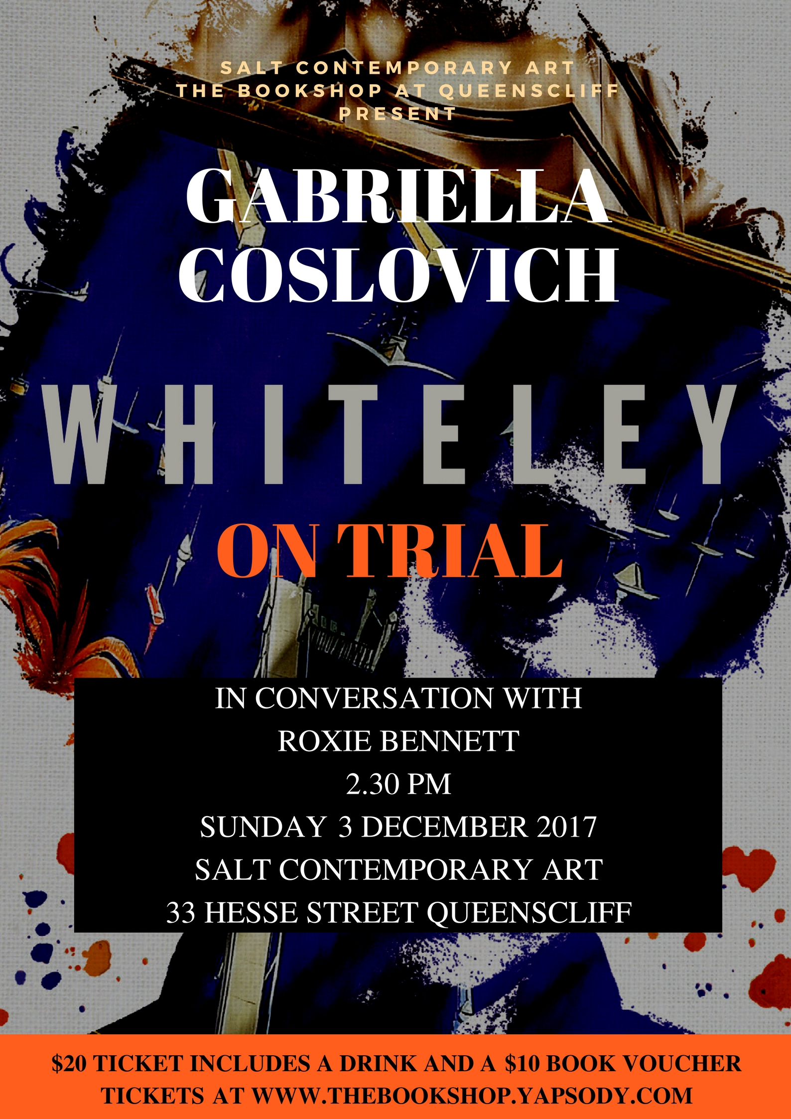 Whiteley on Trial with Gabriella Coslovich