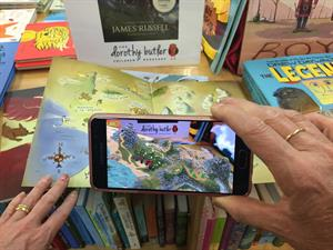 Augmented Reality (AR) map in action