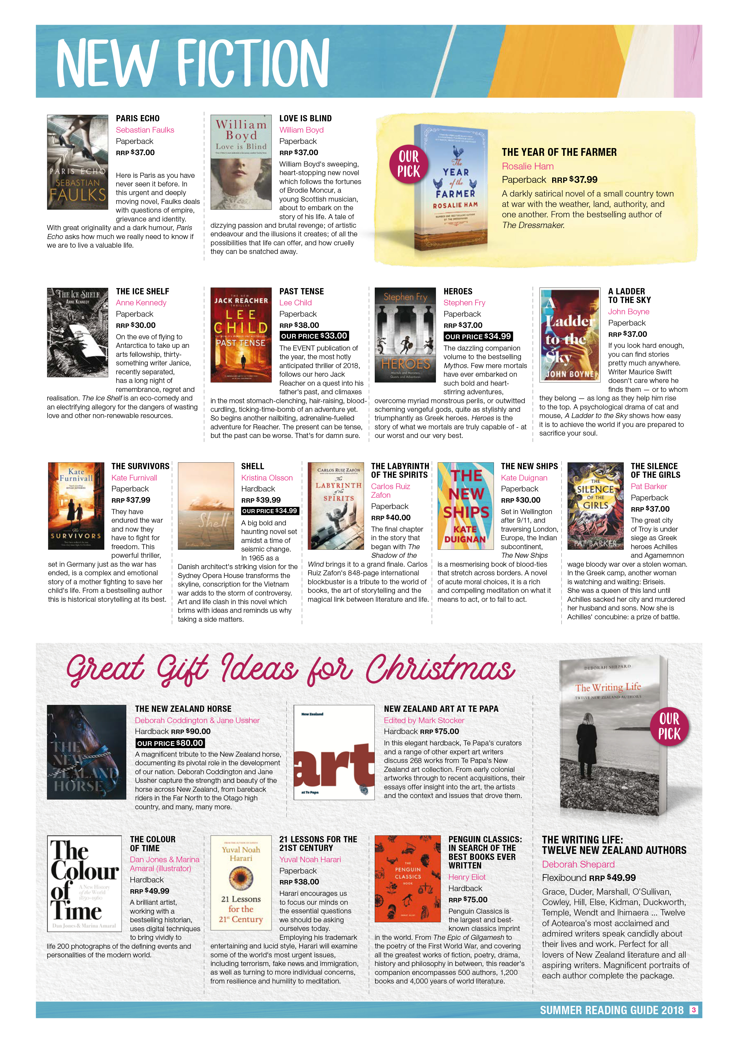 Piccadilly Books Summer Reading Guide 2018 Page 3