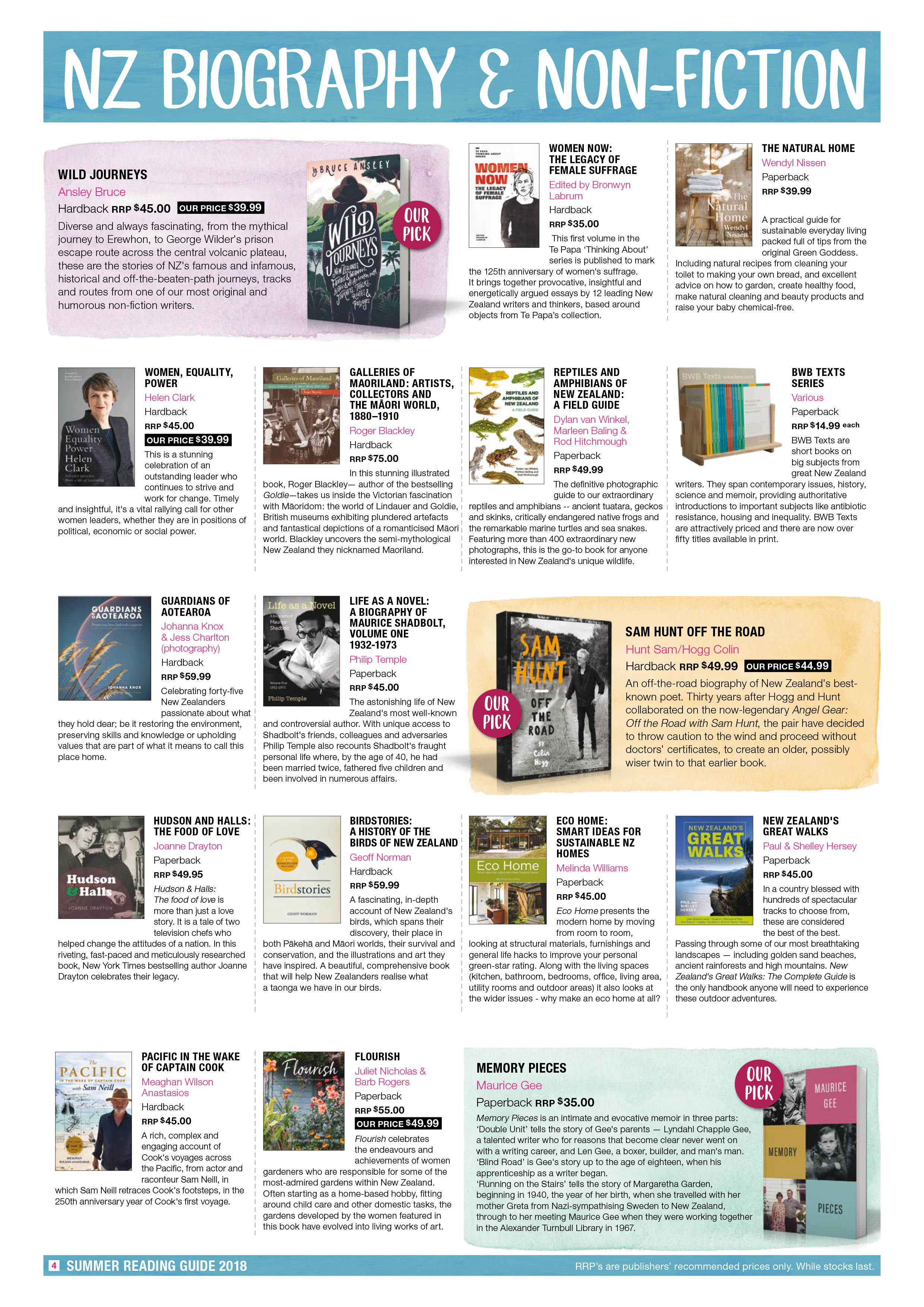 Piccadilly Books Summer Reading Guide 2018 Page 4