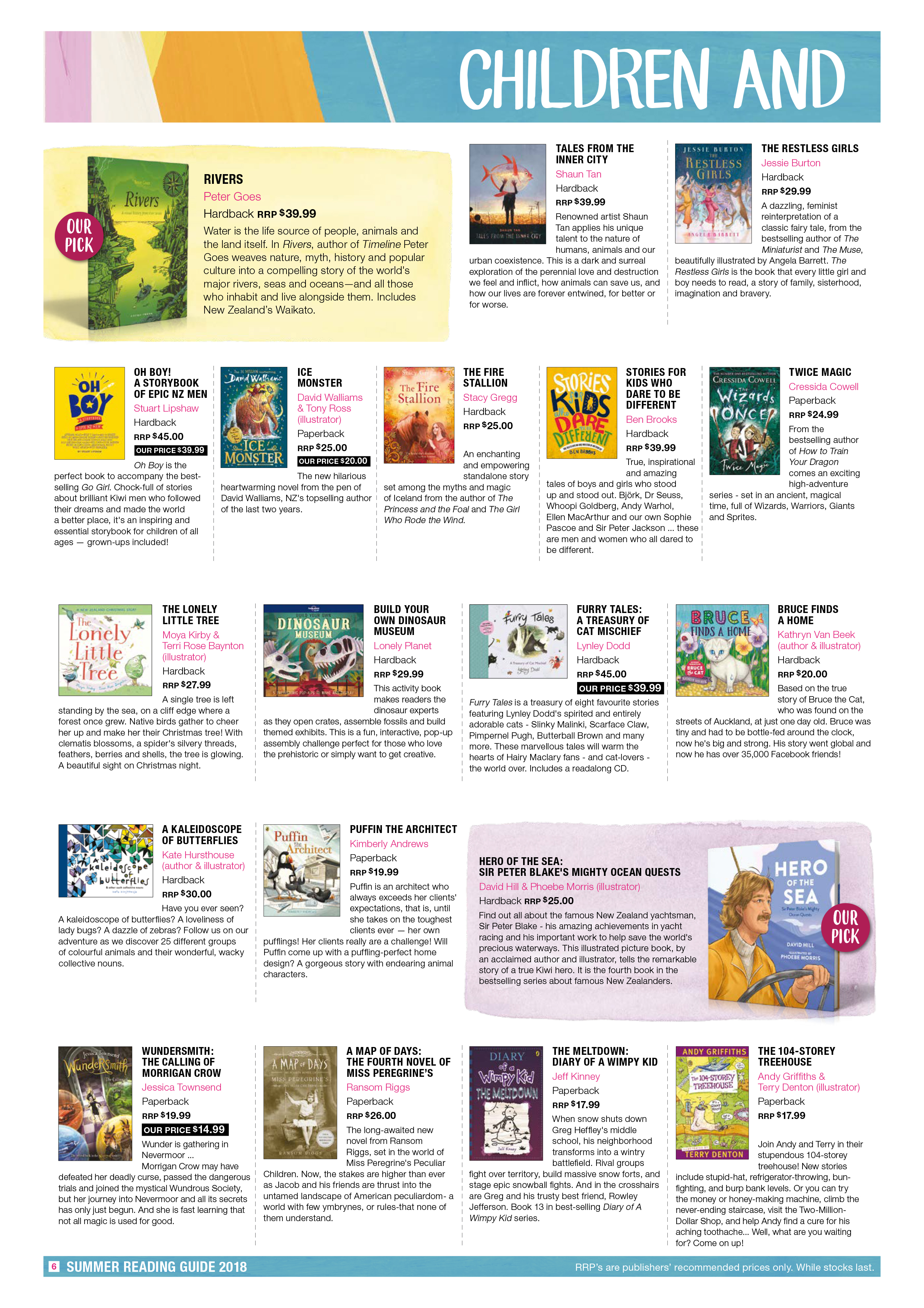 Piccadilly Books Summer Reading Guide 2018 Page 6