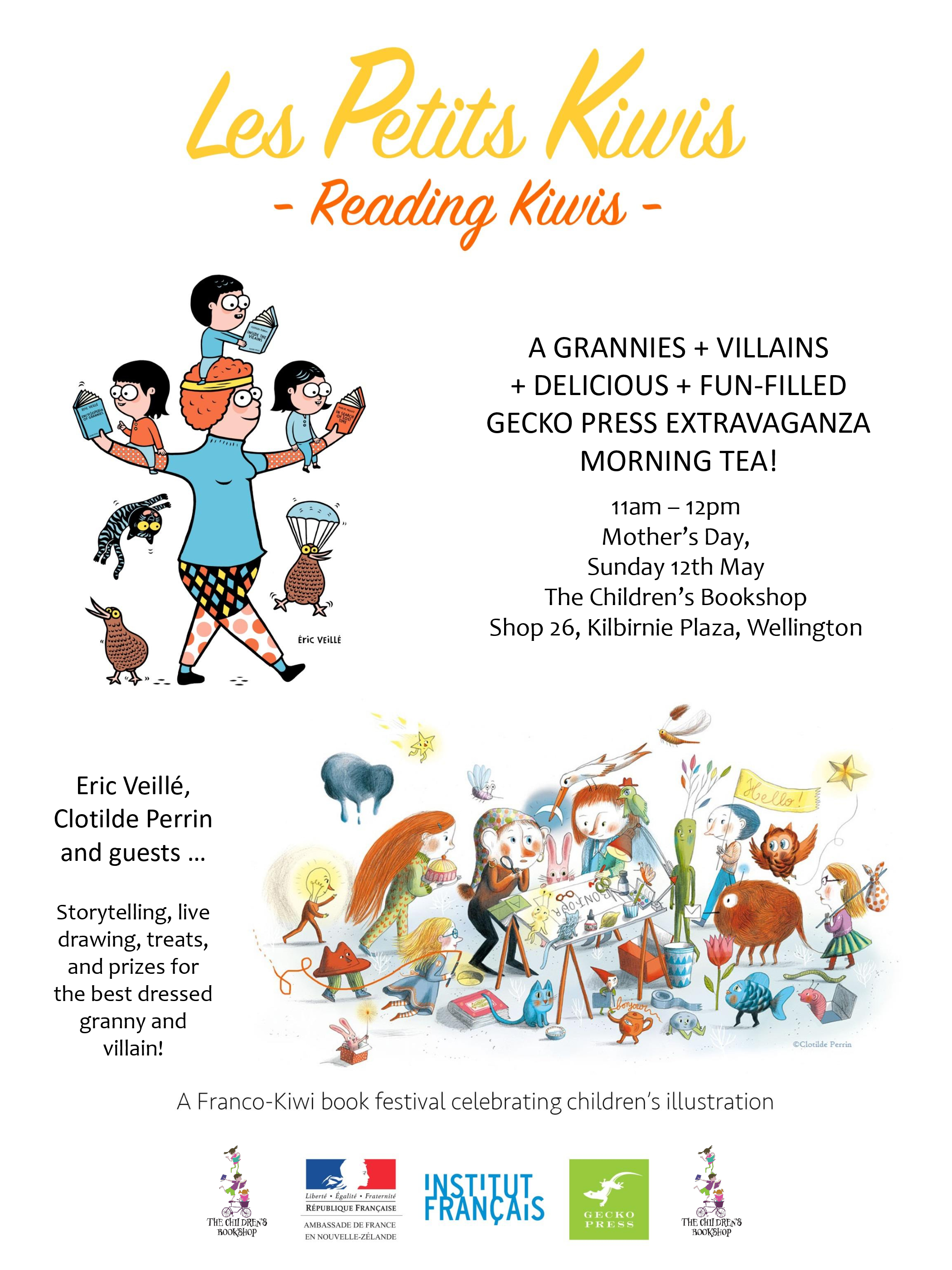 A Grannies + Villains Fun-filled Extravaganza Morning Tea
