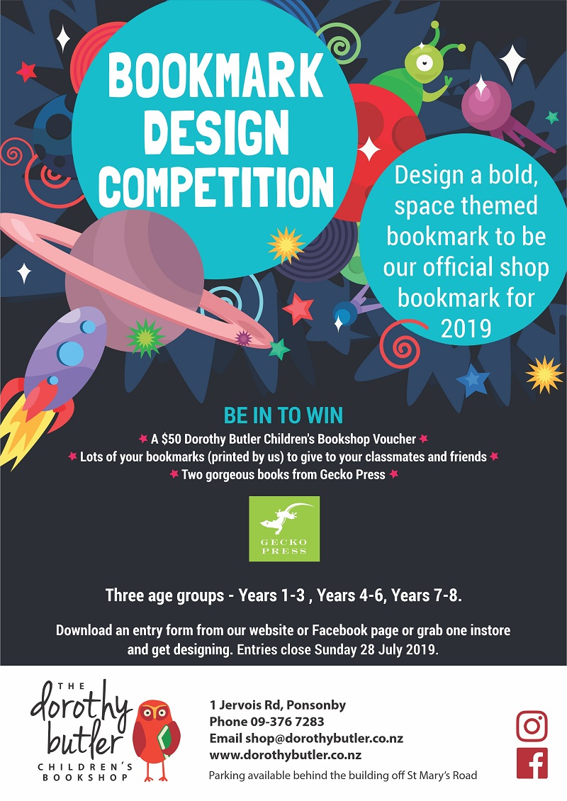 Bookmark Design Competition