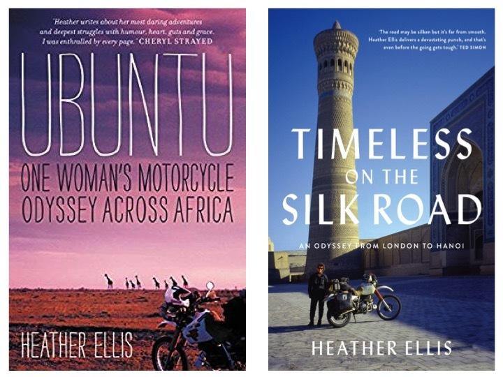 Heather's Books, 'Ubuntu' and 'Timeless on the Silk Road'