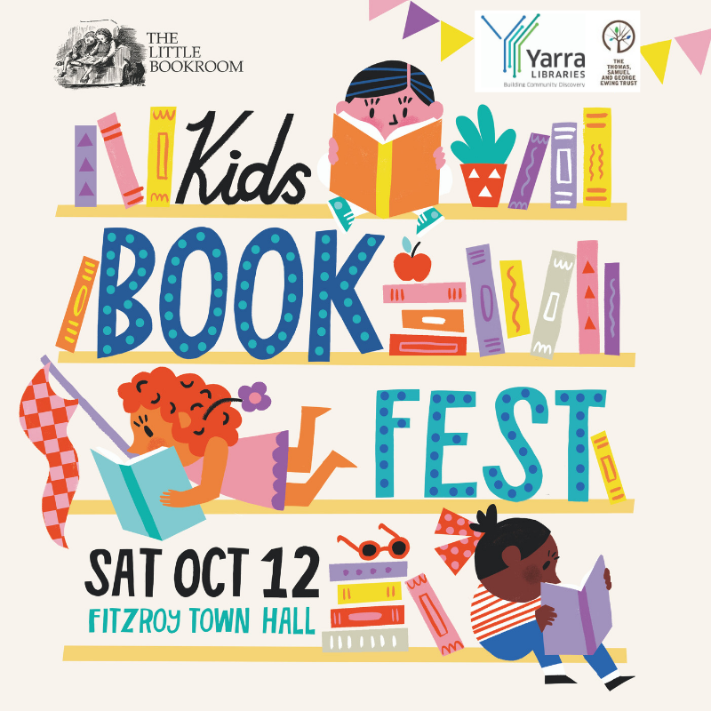 Kids Books Fest 2019 - Fitzroy Town Hall October 12