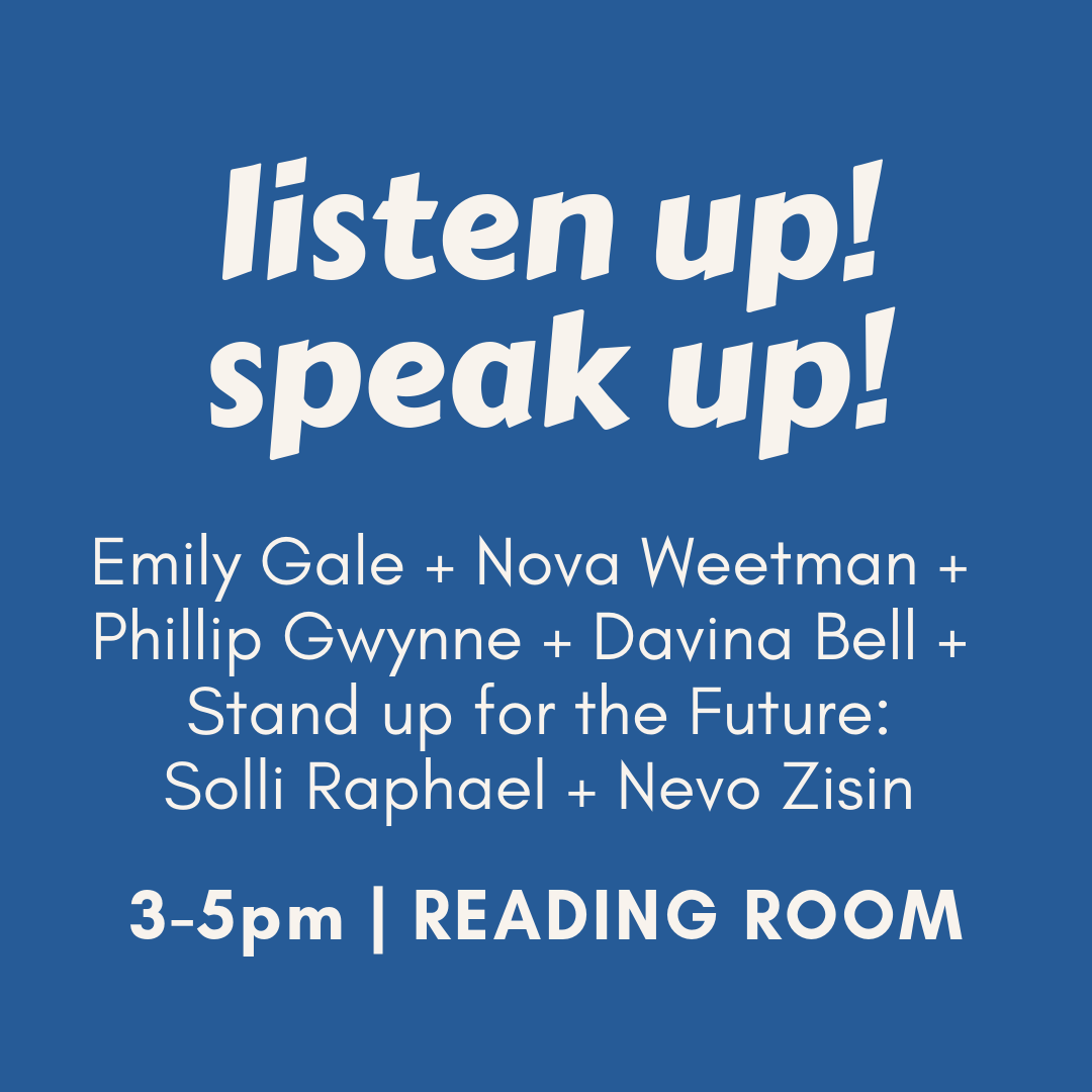 kids book fest: listen up! speak up!