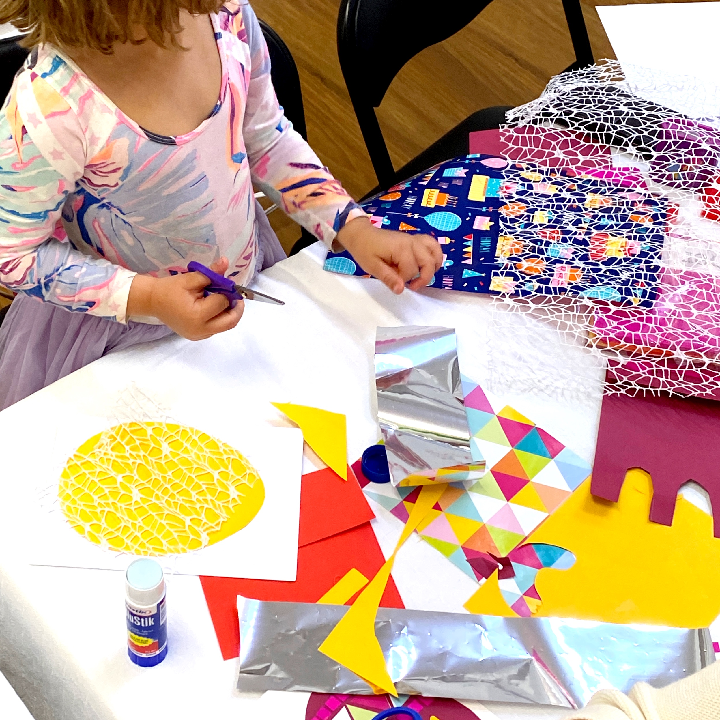 children's art workshop craft
