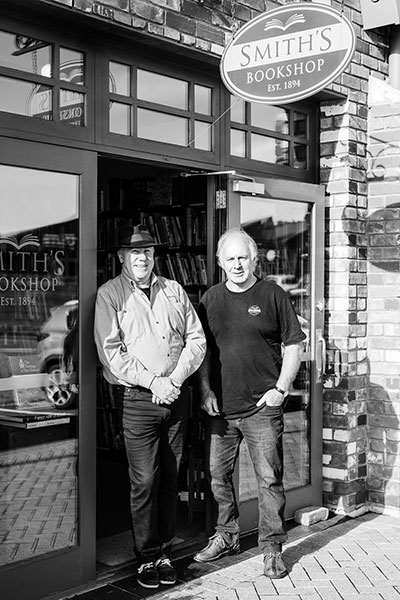 Smith's Bookshop Owners