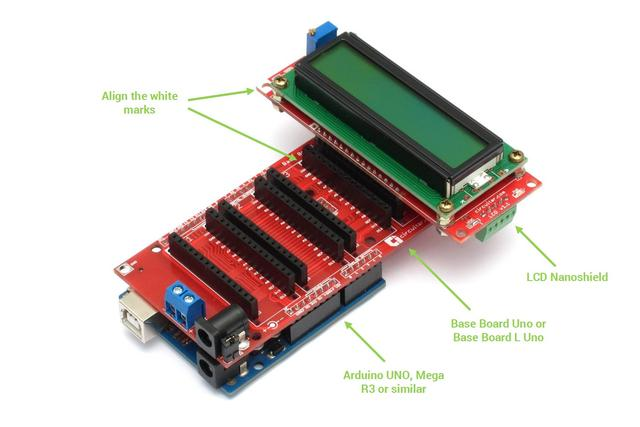 LCD - 16x2 character LCD with I2C interface - Arduino