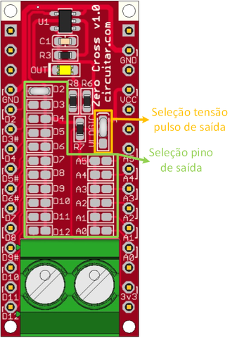Zero Cross - Zero crossing detection for AC mains voltage - Arduino