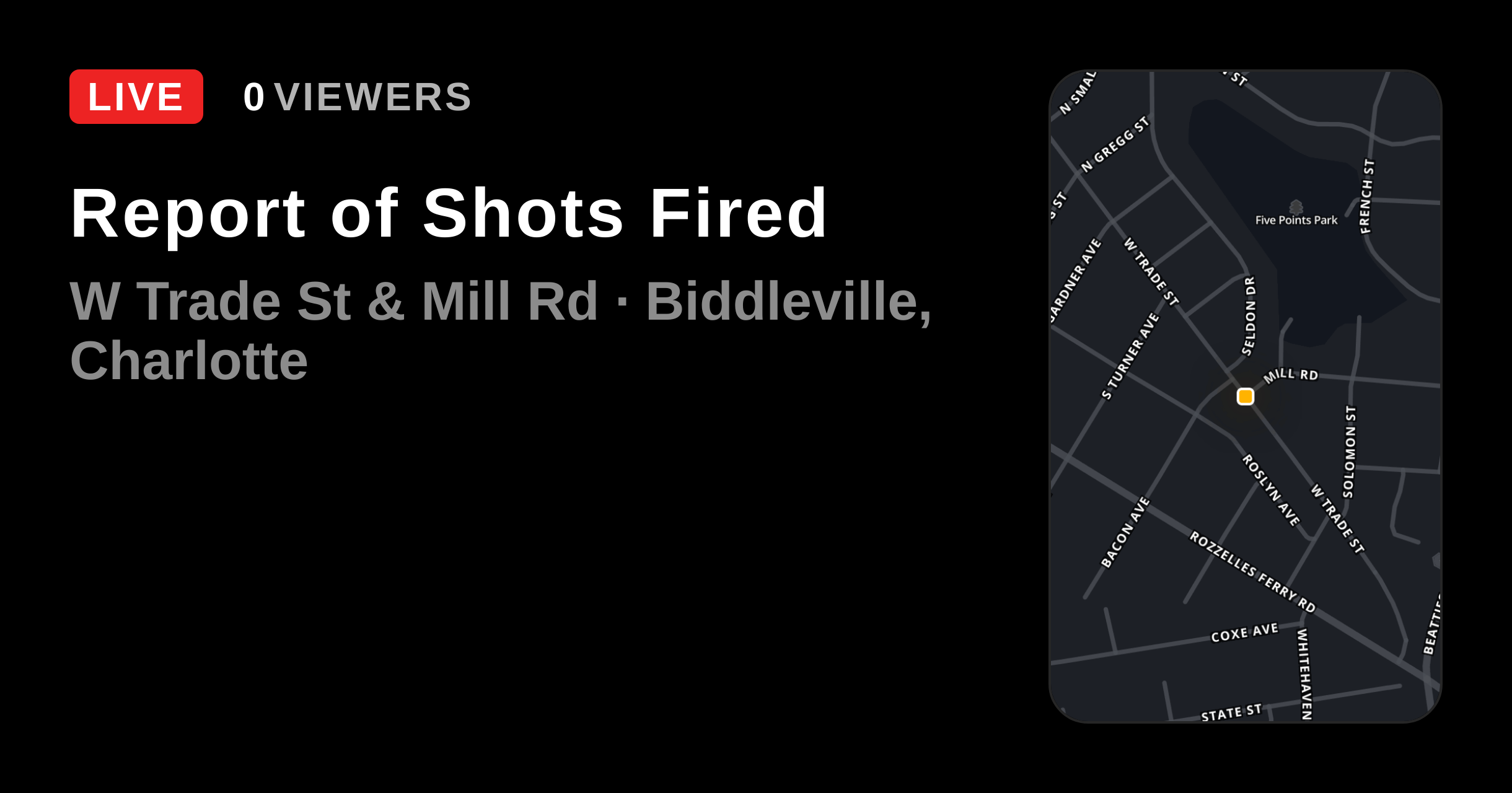 Report Of Shots Fired Citizen Instant 911 Crime And Safety Alerts