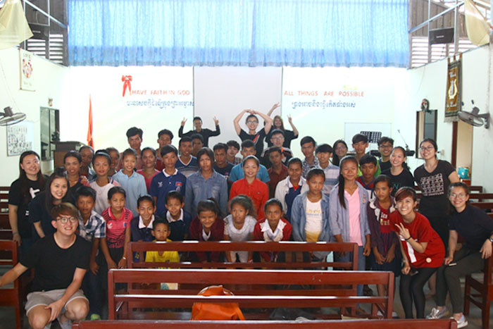 Bringing Christ To Cambodia