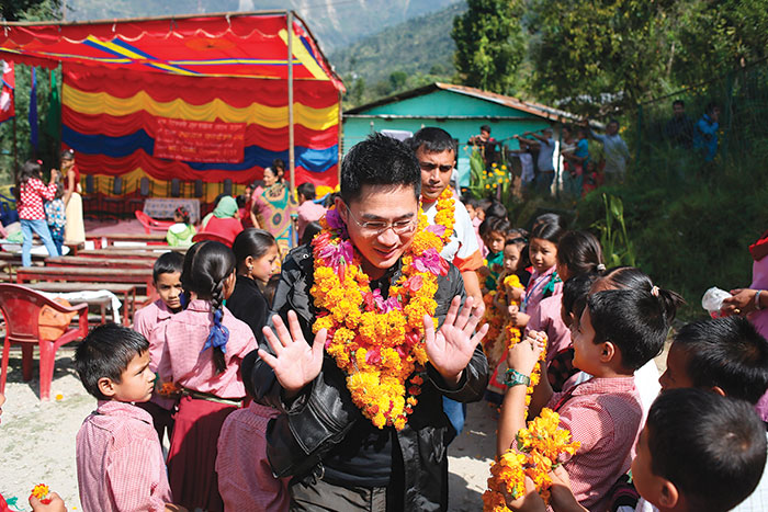 Bringing Education Back To Nepal