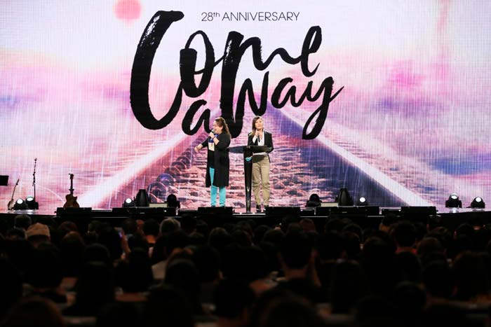 CHC's 28th Anniversary: Come Away With God