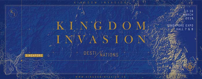 Kingdom Invasion 2018: Destiny In Nations