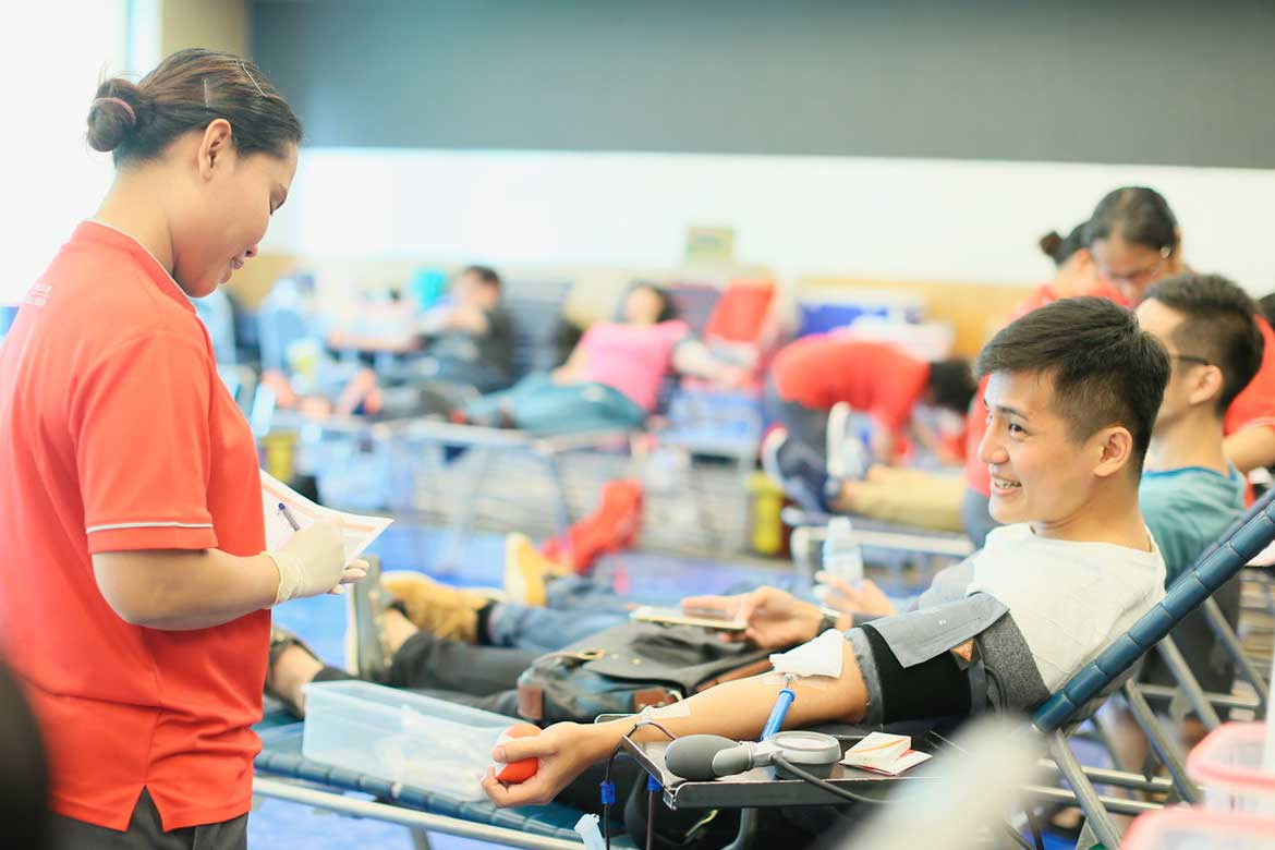 """There Is A Need For Younger Blood Donors"": Tan Sri Tee Tua Ba"