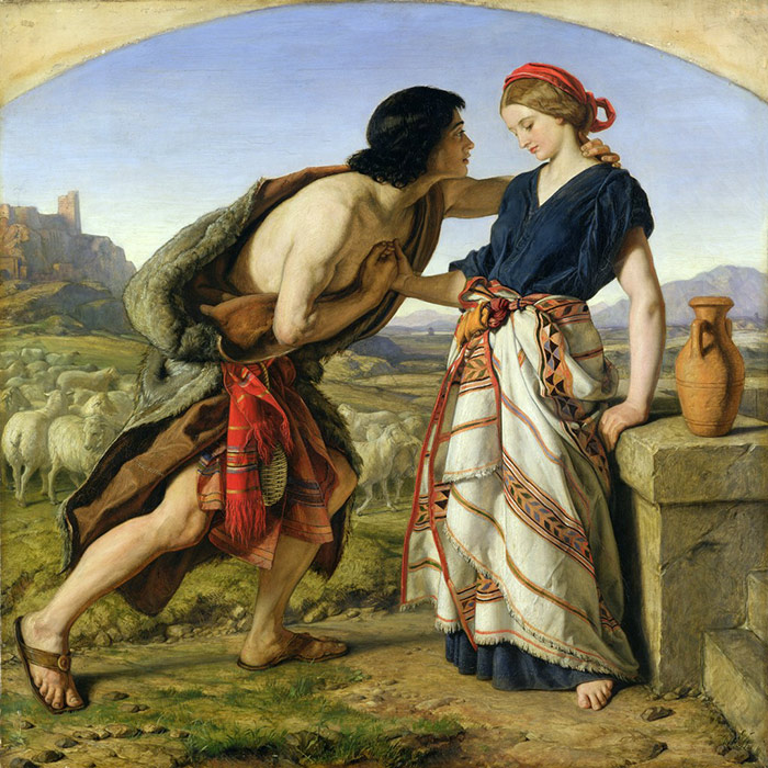 William-Dyce---The-Meeting-of-Jacob-and-Rachel