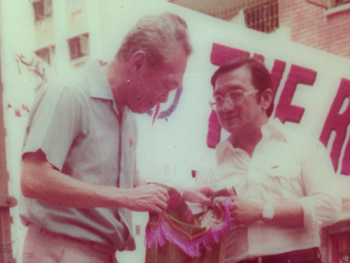 The Day I Met Mr Lee Kuan Yew