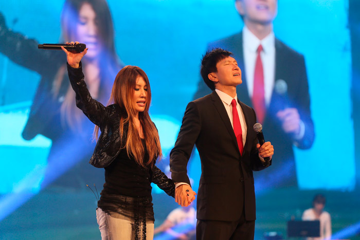 City Harvest Church Holds Dedication Service For Suntec Singapore