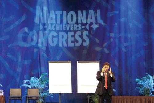 Blair Speaks In Singapore Event