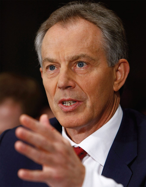 """""""Tony Blair: Being Open Is The Key To Being Successful"""""""