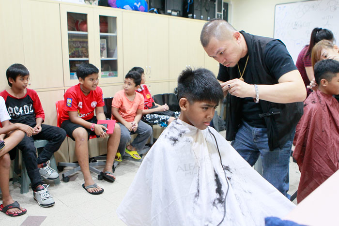 So Cool For School With Free Haircuts