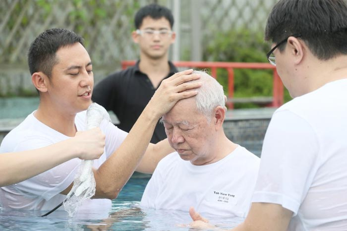 Generations Celebrate New Life in Christ