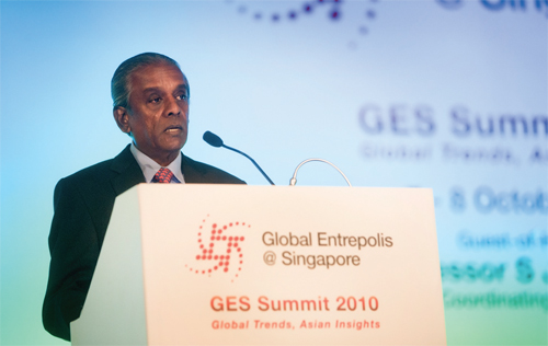 Asian Insights On Global Trends: Global  Entrepolis@Singapore Summit 2010