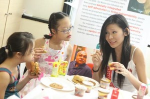 Tea Party with Miss Singapore World Finalists