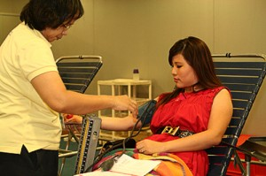 Giving Blood To Save Lives
