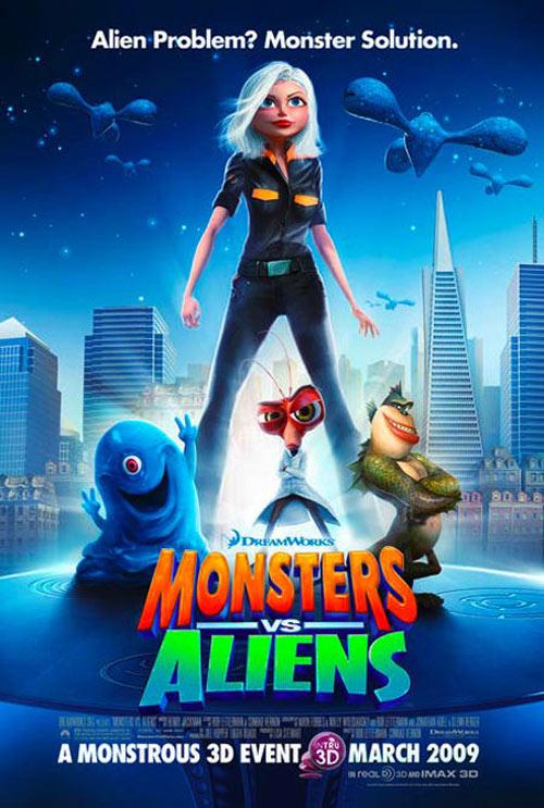 The Big Screen: Monsters vs Aliens