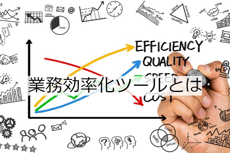 業務効率化ツールとは|機能一覧・導入のメリット・実現できること