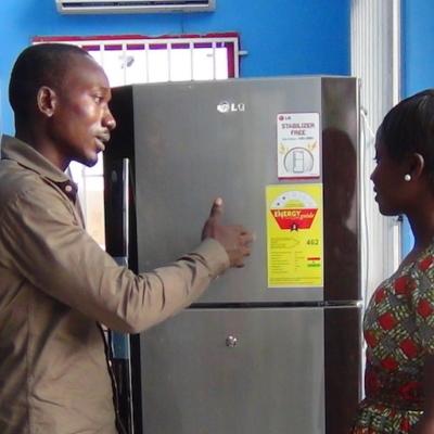 Ghana Refrigerator Energy Label Undp