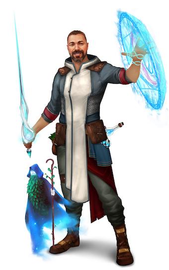 Gamemaster Caleb Moore