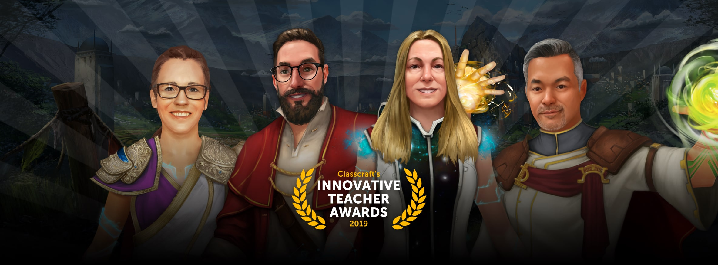 Classcraft's Innovative Teachers of the Year 2019