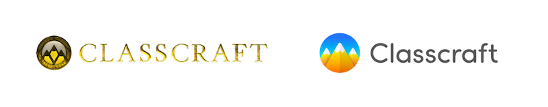 Classcraft's old and new logo