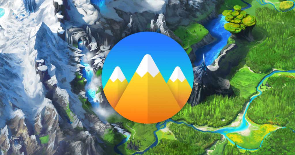 classcraft logo over quest map