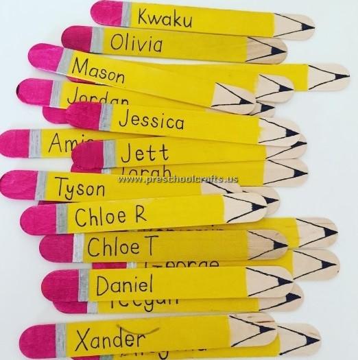 Pencil-popsicle-stick-crafts
