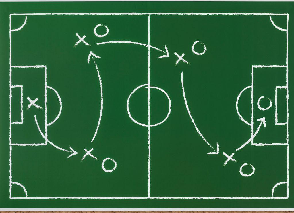 white chalk game plan