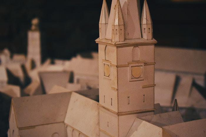 white castle miniature