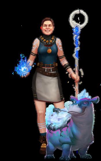 Teacher & Gamemaster Jerilyn McConchie