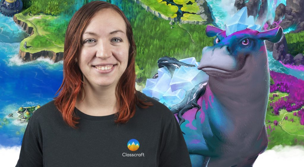 Stephanie Carmichael, Head of Storytelling team at Classcraft