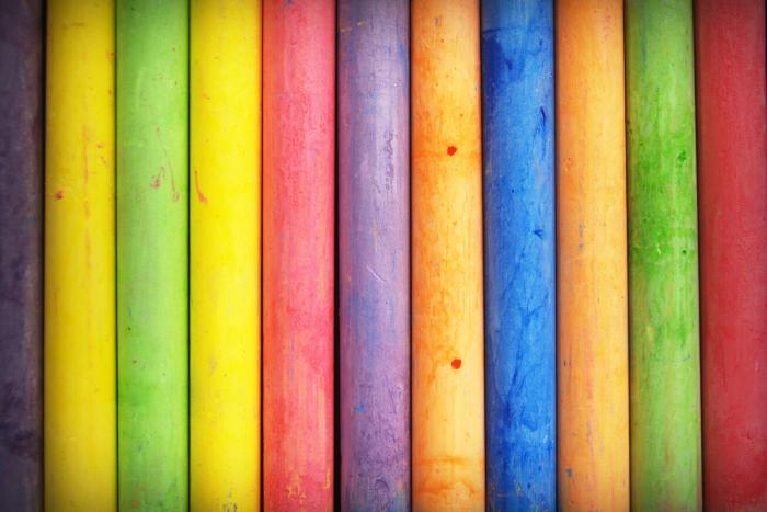 Multi-color-sticks