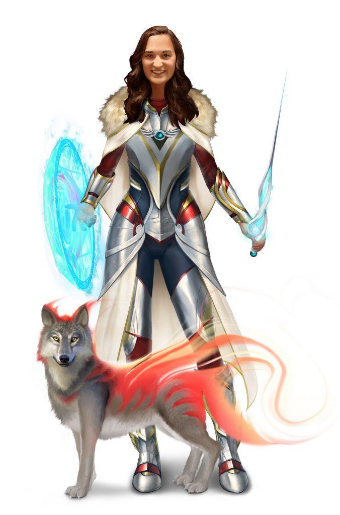 Gamemaster and teacher Carey Juillerat's custom avatar