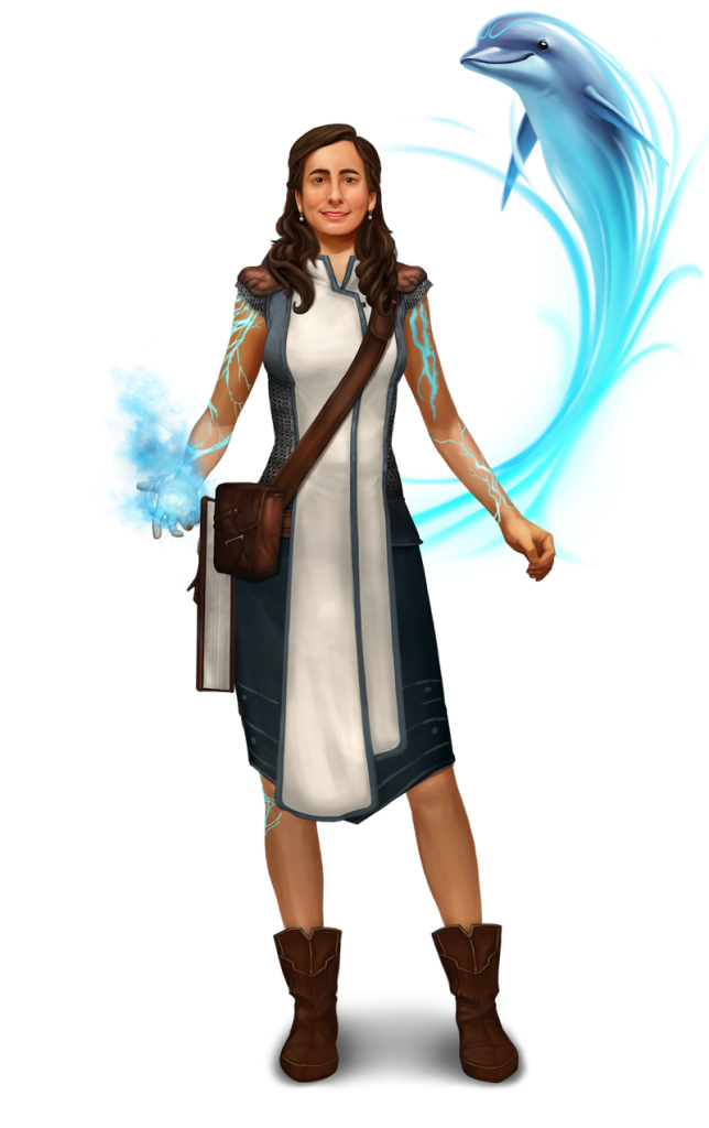 Gamemaster and teacher Lauren_Goldman's custom avatar