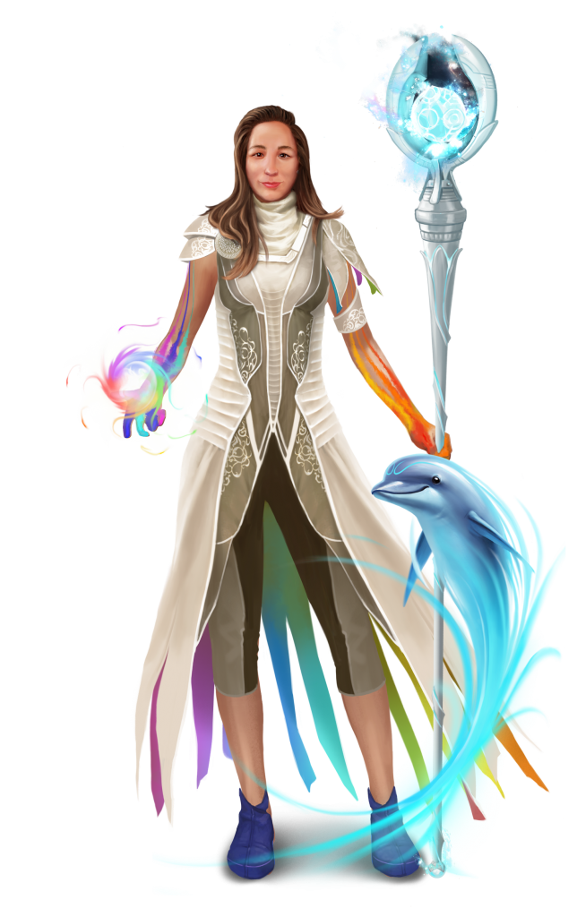 Gamemaster Jennifer Endres featured in a custom avatar