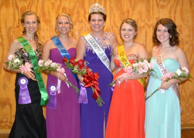 2015 Clearfield County Fair Queen Court