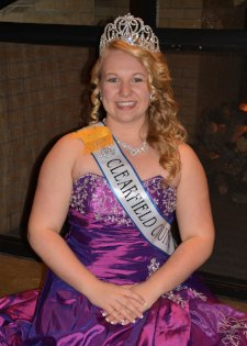 2014 Clearfield County Fair Queen Chelsea Folmar