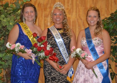 2014 Clearfield County Fair Queen Court